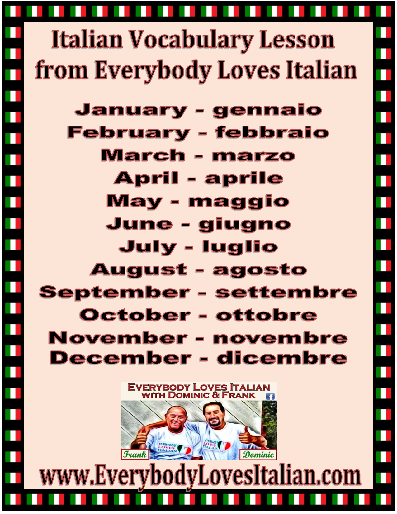 how to learn italian in a month
