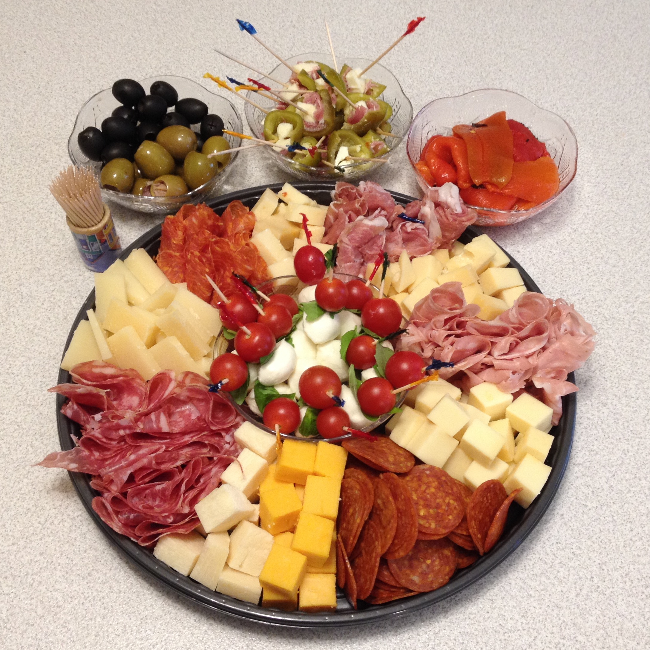 meat cheese platter